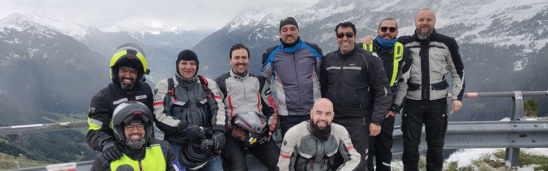 Alpentour 2020 groepsfoto